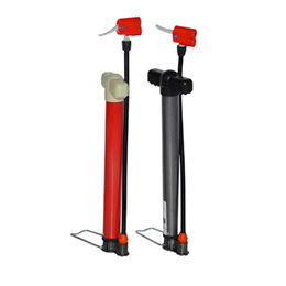 China Bike Pump, Steel baby air pump, with screw and push, A/V and E/V Nozzle
