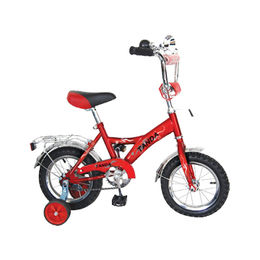 Children bike, kids bicycle, with natural rubber tire, colorful rim, steel frame, MTB style from Hebei IKIA Industry & Trade Co. Ltd