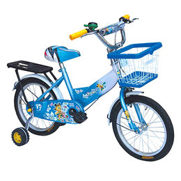 Children bike with colorful rim, white rubber tire, colorful saddle, chain cover from Hebei IKIA Industry & Trade Co. Ltd