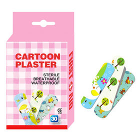 Disposable Adhesive Wound Plaster, Cartoon Type from Shanghai Xuerui Import & Export Co. Ltd
