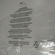 China Plastic Clothes Packaging Bag