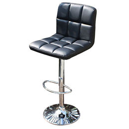 Wholesale modern PU bar stool with backrest from Langfang Peiyao Trading Co.,Ltd