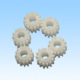 Plastic part, plastic gear, made of POM, customized designs are welcome from HLC Metal Parts Ltd