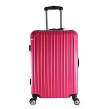 China Classical lightweight ABS travel luggage for men and women