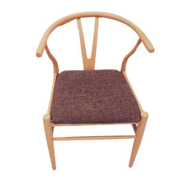 Fabric seat metal frame leisure dining chairs/living room chairs from Langfang Peiyao Trading Co.,Ltd