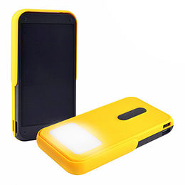 10000mAh Portable Solar Power Bank 10000mAh LED Flashlight Mobile Power Charger from Shenzhen MiQi Electronic Co.,Ltd