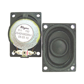1W Neodymium Speaker in 28 x 40mm dia and 8 oHm impeance from Wealthland (Audio) Limited