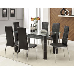 Wholesale modern living room table, tempered glass table top from Langfang Peiyao Trading Co.,Ltd