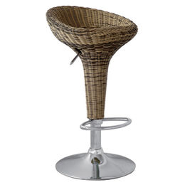 Chinese rattan bar stool for wholesale from Langfang Peiyao Trading Co.,Ltd