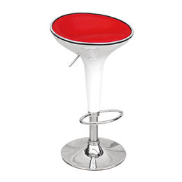 PU and ABS bar stool with footrest(JH-D101-1) from Langfang Peiyao Trading Co.,Ltd