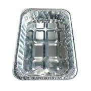 China Disposable aluminum tray for BBQ aluminum foil all natural
