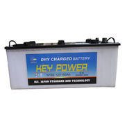 China N150 JIS storage dry charge battery for cars, vehicles and trucks