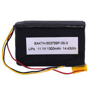 Lithium-ion Polymer Battery Pack, Rectangle 503759P 3S1P 11.1V for Variety of Electronic Devices from Shenzhen BAK Technology Co. Ltd