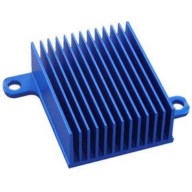 China Aluminum Extrusion Blue Heatsink for Energy