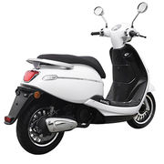 New Euro 4 scooter with EEC homologation from Zhejiang Zhongneng Industry Group Co. Ltd