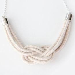 Wholesale Sailor Knot Cotton Rope Necklace, Sailor Knot Cotton Rope Necklace Wholesalers