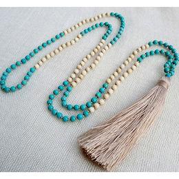 Wholesale Handmade beaded tassel necklace, Handmade beaded tassel necklace Wholesalers