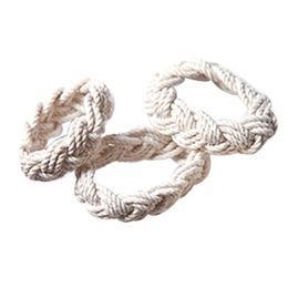 c61529858289 Pulsera tejida algodón hecho a mano de la cuerda del ancla de la pulsera de  la