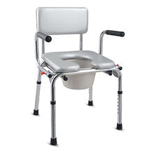 China Bath Shower Chair With Commode Bathroom Safety Equipment For Old  People
