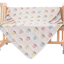 China 100% Cotton Blanket for Baby and Toddler