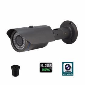 China 2MP H.265 IR Waterproof Bullet HD IP Camera, VSS Mobile App, PoE Optional, Low Illumination