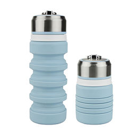 hot sale foldable silicone water bottle Fuzhou King Gifts Co. Ltd