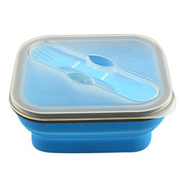 Foldable microwave silicone lunch box Fuzhou King Gifts Co. Ltd