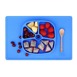 Unbreakable Silicone lunch plate Fuzhou King Gifts Co. Ltd