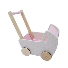 China Lovely push walker wooden baby walker for kids