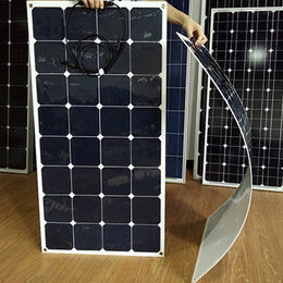100W 18V flexible caravan solar panel from Sopray Solar Group Co. Ltd