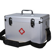 China Family Portable Multilayer Aluminum First Aid Box Medical Box