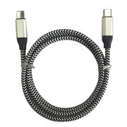 Data 3.1 cable, type C to type C cable, super fast charging, 3A/5A from Changzhou Wistar Electronics Co. Ltd