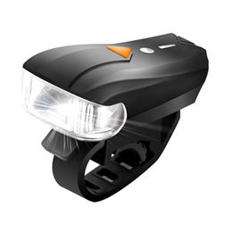 China USB Rechargeable Bike Light Ultra Bright 400 Lumens Five Mode Front Light