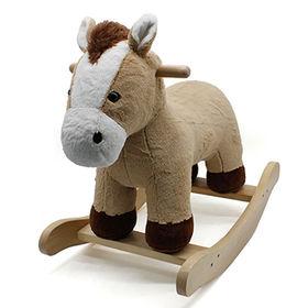 China Wooden rocking horse toy