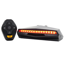 China Rechargeable Bike Tail Light Remote Control Turning Lights