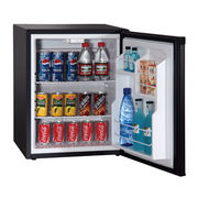 China 50L Absorption Mini Bar Fridge with Lock, Solid Door or Glass Door