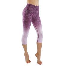 Customized logo printed yoga workout leggings for women from Dongguan Sunfire Sportswear Co., Ltd.