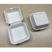 China Bagasse Burger box