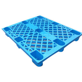 China HDPE solid surface plastic pallet 1000x 900x150mm