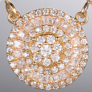 China Best selling fashionable design gemstone necklace for women