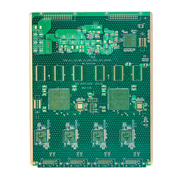 China 16-layer PCB with 2.6mm Thickness, Surface Finish of ENIG, Green Solder Mask, Countersink Holes