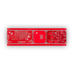 China Red Solder Mask PCB, FR-4 with TG 170, Multi-design Panel