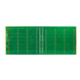 China Multi-layer PCB with Half Hole and Edge Plating, Surface Finish of ENIG, Green Solder Mask
