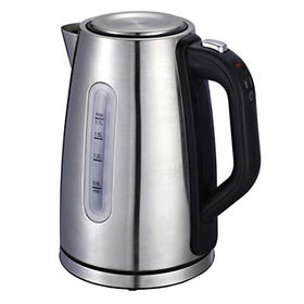 China Digital electric stainless steel kettle 1.7L, keep warm function, adjust temperature