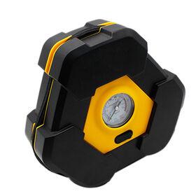 China Portable electric auto air compressor, pump car tire inflator