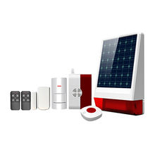 China Wireless GSM Solar Powered Siren Alarm System