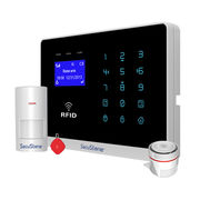 Dual Network TCP/IP + GPRS Home Alarm System Support IPC camera YL-007WM2FX from Shenzhen Chitongda Electronic Co. Ltd