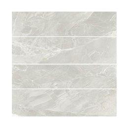 China 600x1200mm Chinese Light Grey Vein White Marble White Marble Flooring  Tiles