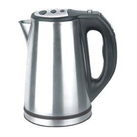 China 1.7L Electric SS Kettle with LCD display Temperature Control Ranges from 20 to 100-degree Celsius