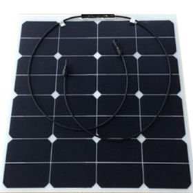50W Semi Flexible Solar Panel from Shenzhen Juguangneng Science & Technology Co. Ltd